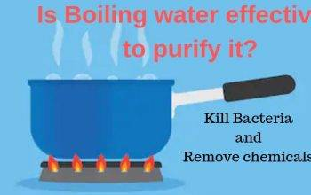 Does boiling water purify it: Can it kill bacteria or remove chemicals?
