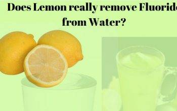 Does lemon remove fluoride from water?