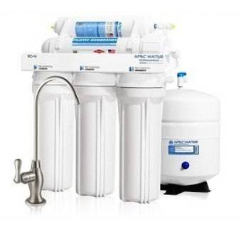 APEC RO-Hi Top Tier Water Filter System is a good non-electric water purifier for borewell water