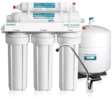 APEC Top Tier 5-Stage Reverse Osmosis Water Filter System ESSENCE ROES-50