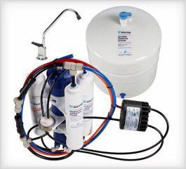 Home Master TMAFC-ERP Artesian Full Contact Undersink Reverse Osmosis System is a good non-electric water filter for borewell water