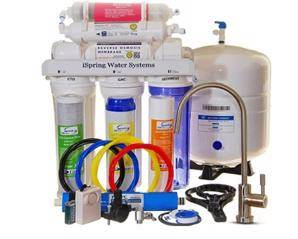 iSpring RCC7AK 6-Stage Under Sink Reverse Osmosis Filter System