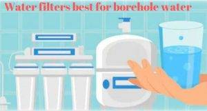 non-electric water purifier for borewell water