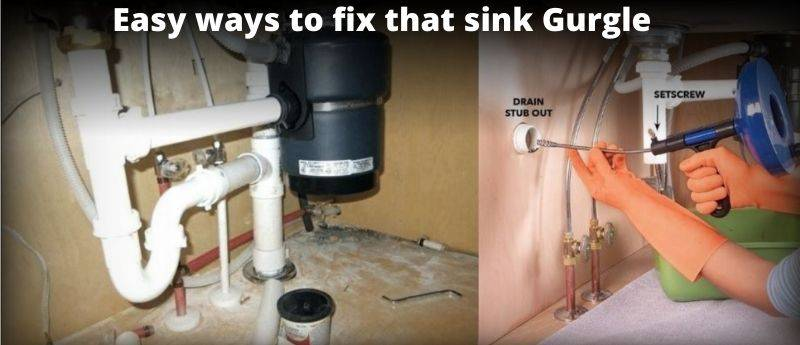Why Does My Kitchen Sink Gurgle Try these easy Fixes to solve the problem