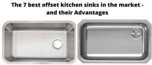 Offset kitchen sink pros and cons