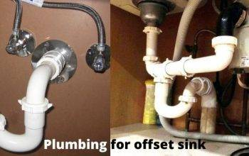 How to Install and maintain Plumbing for Offset Kitchen Sink