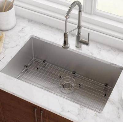 Kraus Standart PRO 30-Inch I6-Gauge Undermount Single Bowl