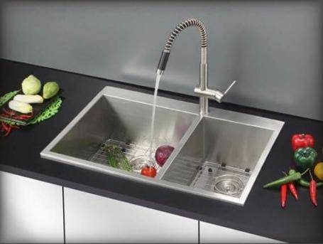 Ruvati 33-Inch by 22-Inch Tirana Drop-in Stainless Steel Sink