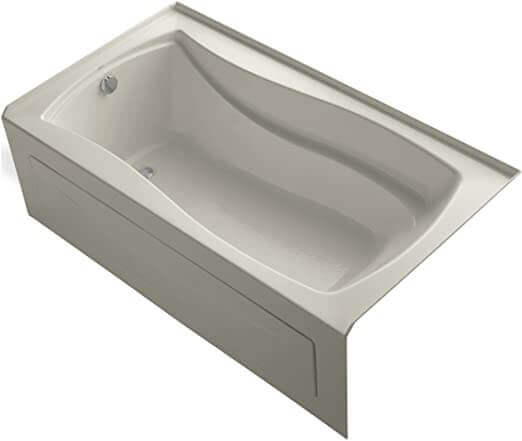 KOHLER K-1229-LA-0 Mariposa 5.5-Foot Bath good for elderly