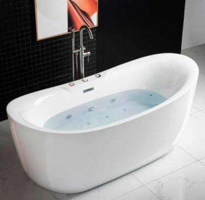WoodBridge Whirlpool Tub B-0034 good for the elderly