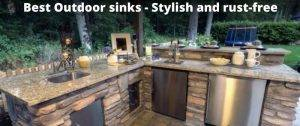 Best Outdoor Kitchen Sinks with cover