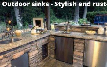 12 Best Outdoor Kitchen Sinks with Cover