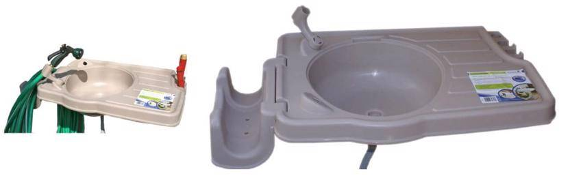 CleanIT RSI-S2 Riverstone Outdoor Sink