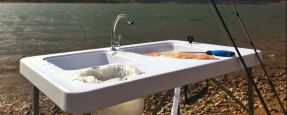 ColdCreek Outfitters Best Outdoor Washing Table and Sink