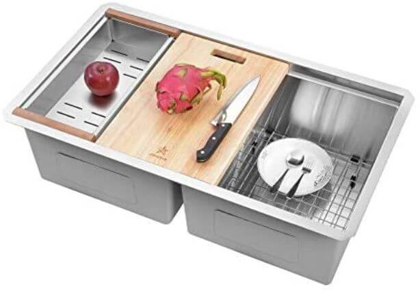 STARSTAR Workstation Ledge Best Kitchen and Yard Sink