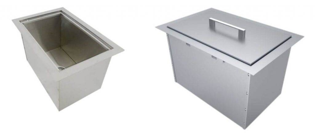 SUNSTONE BIC14 Single Basin Insulated sink Chest with Cover