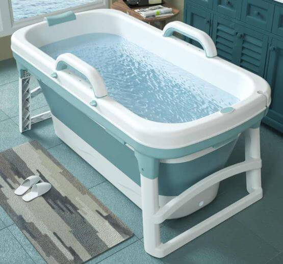 Portable Bathtub setup for elderly