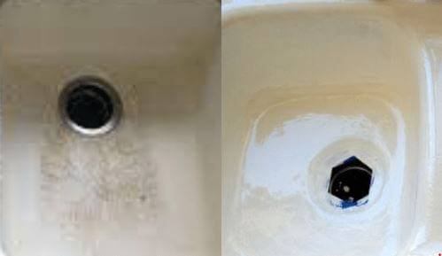 Before and After Sink resurfacing