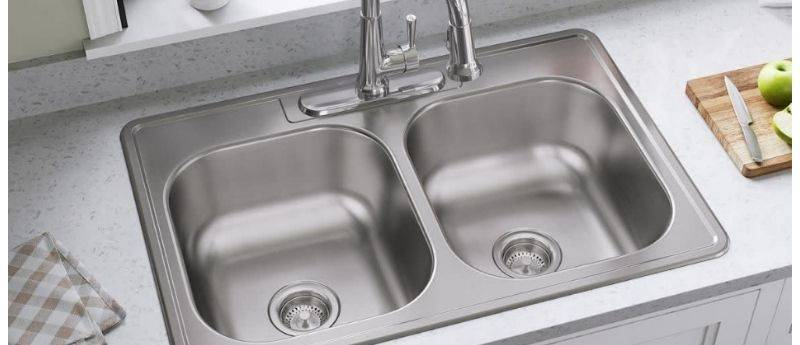 Painting stainless steel sink